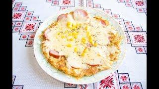 Картопляна піца на пательні❤️Картофельная пицца на сковороде