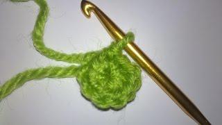 Крючок для начинающих.Как вязать кольцо амигуруми крючком+для начинающих.