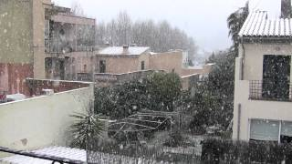 preview picture of video 'Nevada en Esporles (Mallorca)'