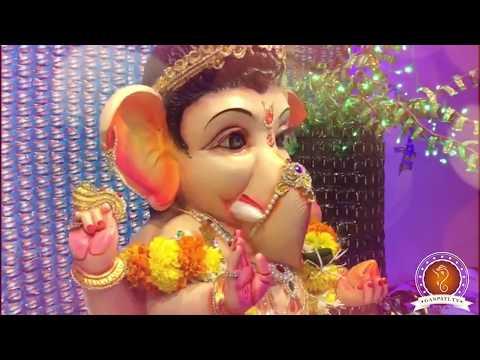 Yash Jain Home Ganpati Decoration Video
