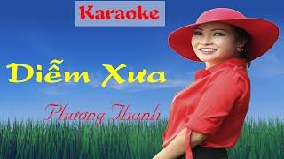 Diễm Xưa [ Karaoke ] | Phương Thanh | Karaoke Nhạc Trịnh Tuyển Chọn