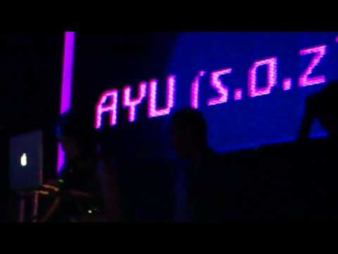DJ AYU s.o.z playing at ENTRANCE CLUB MEDAN
