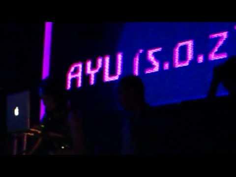 DJ AYU s.o.z playing at ENTRANCE CLUB MEDAN