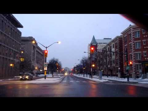 London Ontario Downtown. 2013 Xmas Eve.
