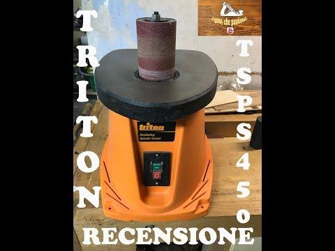 Triton TSPS450 Levigatrice a rullo oscillante - Oscillating spindle sander