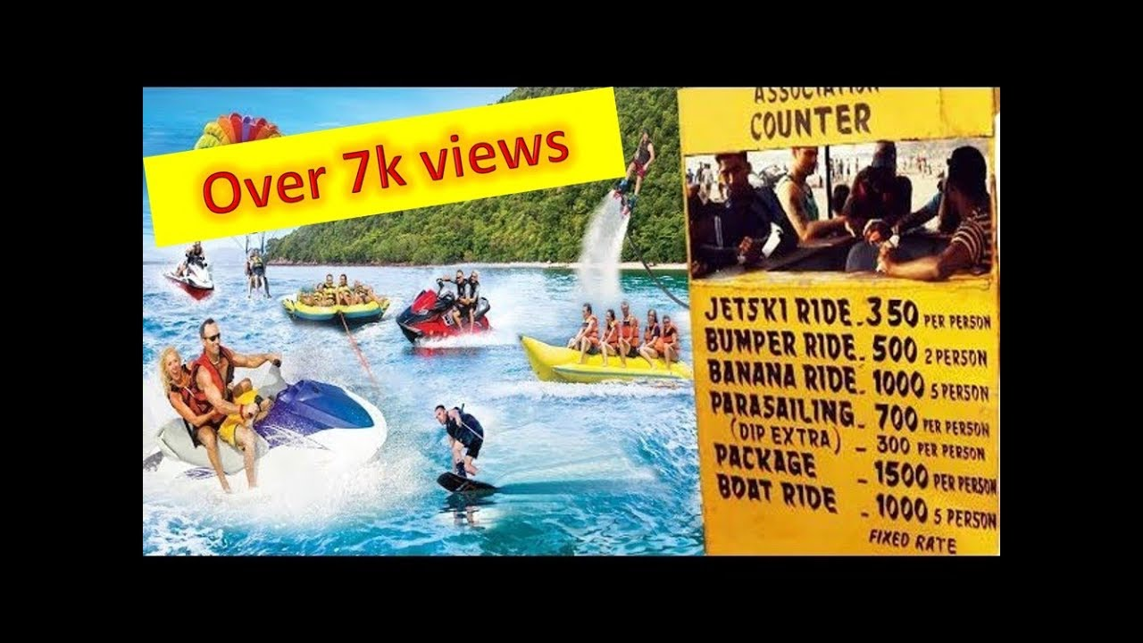 Watch Video Best Water Sports in Goa