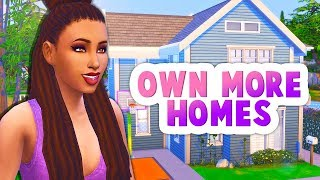 OWN MULTIPLE HOMES + FLIP HOUSES🏡 // THE SIMS 4 | MOD REVIEW