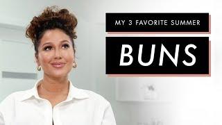 Adrienne Houghton's 3 Favorite Bun Hairstyles   All Things Adrienne