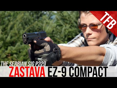 Zastava EZ-9 Compact: Is This a Serbian SIG?