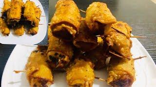 Easy Potato Snacks Recipe/আবেলিৰ চাহৰ জুতিত আলুৰ ৰোল/Potato Roll Samosa/Aloo Samosa Recipe/Snacks