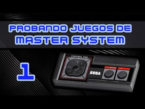 Probando Juegos de Master System #1