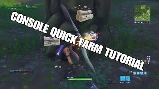 How To Quick Farm On Console ( Secret Fastest Method )