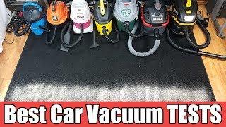 Best Vacuum For Car Detailing - TESTED Ridged vs Shop Vac vs Armor All vs Vacmaster