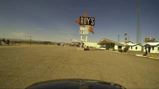California's Old Route 66: Barstow to Amboy Dashcam