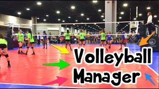 How To Be a VOLLEYBALL MANAGER!