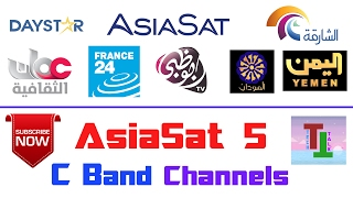 AsiaSat 5 @100.5°E ??  | Lots On C Band FTA Channels On Small Dish | In FreeDish Receiver