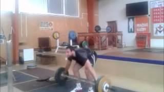 Jan Marcell Power snatch - 120kg
