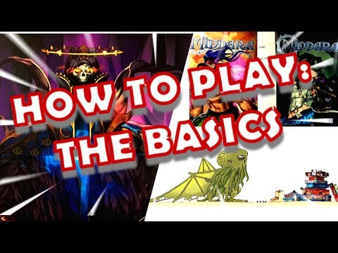 How to Play Middara Part 1 - The Basics - Bored Online? Board Offline! 352