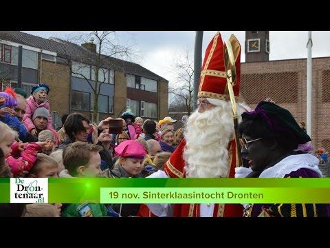 VIDEO | Sinterklaasintocht blijft op het Meerpaalplein, Piet blijft in Dronten zwart