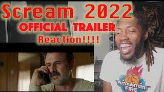 Scream (2022) Official Trailer Reaction
