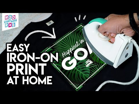 Print a T-shirt with an IRON | EASY | In Hindi