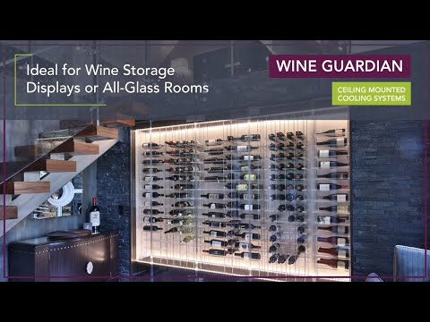 Video thumbnail for Wine Guardian Ceiling Mounted Wine Cooling Units