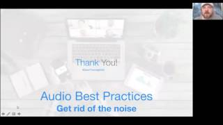 Zoom Audio Best Practices
