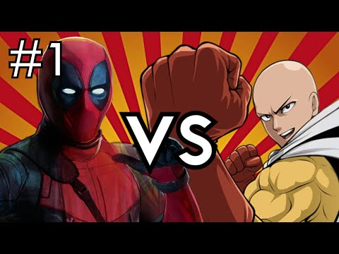 Deadpool Vs. One Punch Man (Part 1)