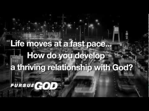 Video of Pursue Journal and Bible