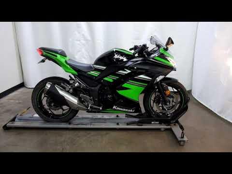 2017 Kawasaki Ninja 300 ABS KRT EDITION in Eden Prairie, Minnesota - Video 1