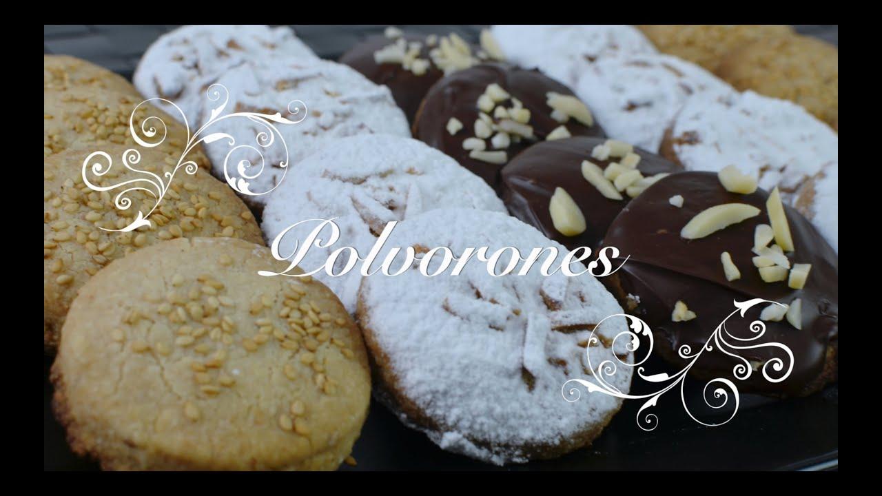 Polvorones Thermomix | Polvorones Caseros | Recetas de Polvorones | Recetas de cocina chefdemicasa