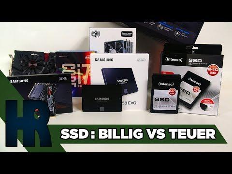 SSD im Vergleich : Billig vs Teuer... lohnt sich der Aufpreis?