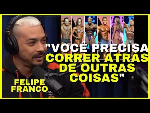 FELIPE FRANCO PREPARAÇÃO PARA COMPETIÇÃO MR. OLYMPIA   Cortes Podcast - Os Melhores!