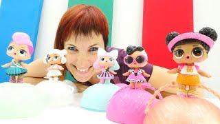 Учим английский с капуки кануки. Тетя Маша и куклы Лол