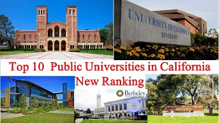 Top 10 Public Universities in California New Ranking | University of California Riverside
