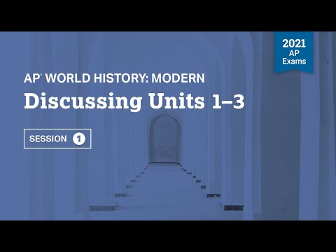 Discussing Units 1-3   Live Review Session 1   AP World History ...