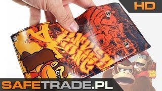 preview picture of video 'Super Mario Donkey Kong Oldschool Wallet with chain [www.safetrade.pl]'