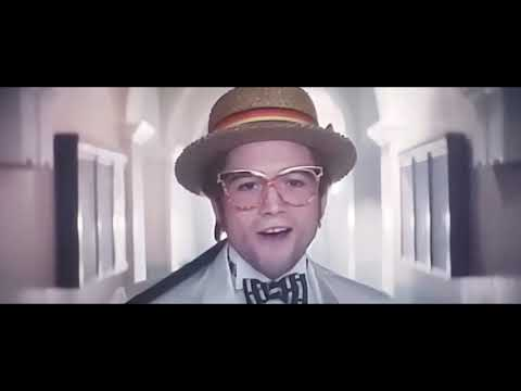 Rocket Man - I'm Still Standing Scene (Taron Egerton, Elton John)