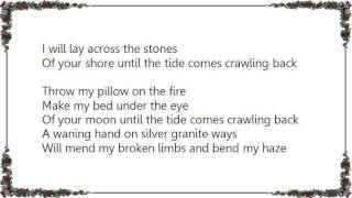 Chris Cornell - Pillow of Your Bones Lyrics