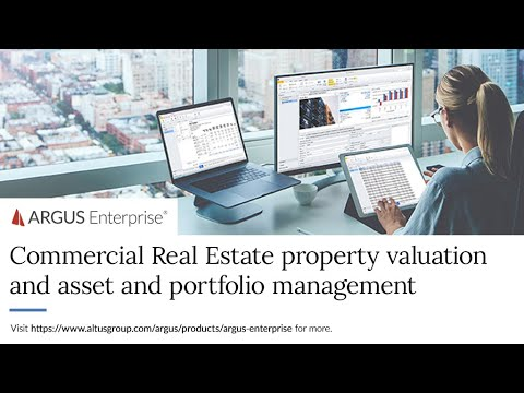 ARGUS Enterprise   Commercial Real Estate property valuation and ...