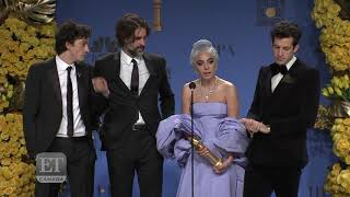 Lady Gaga Wins Golden Globe For Best Song For
