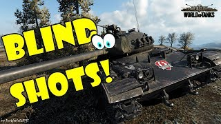 World of Tanks - Funny Moments | BLIND SHOTS, RNG SHOTS! (April 2018)