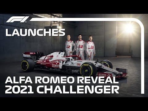 ライコネンとビジョナッチが登場!F1 2021 アルファロメオ「C41」新型F1マシン公開動画