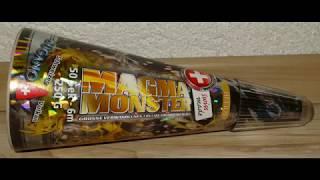 Helios Magma Monster Vulkan Gold Silber