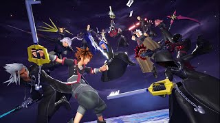 Kingdom Hearts 3 : Remind - All Data Boss Fights (With Style)