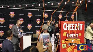 Cactus Bowl Renamed Cheez-It Bowl
