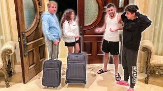Telling our kids we're moving out!!