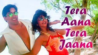 Tera Aana Tera Jaana | Salman Khan | Rambha |  Judwaa Songs | Kumar Sanu | Kavita Krishnamurthy