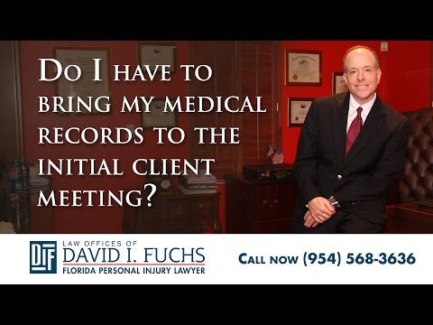 Should I Provide My Medical Records to My Personal Injury Lawyer?