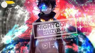 [Nightcore Suzume]~Sugar Song And Bitter Step - Unison Square Garden | Kobasolo & Mirai